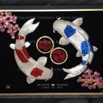 104-DOUBLE-KOIS-CHERRY-BLOSSOM-FAMILY-CREST