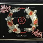 111-DOUBLE-KOIS-LOVE-CIRCLE-CHERRY-BLOSSOM