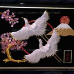 045-DOUBLE-TSURU-MT-FUJI-CHERRY-BLOSSOM-ETERNAL-LOVE