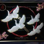 055-FOUR-TSURU-CHERRY-BLOSSOM-KOTOBUKI-CIRCLE