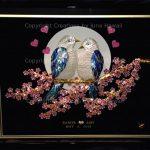005-LOVE-BIRDS-CHERRY-BLOSSOMS-HEART