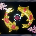 Double_Koi_With_Cherry_Blossoms